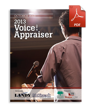 2013 Voice of the Appraiser