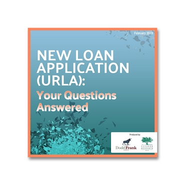 New Loan Application URLA Your Questions Answered webinar