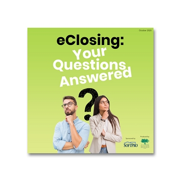eClosing: Your Questions Answered webinar